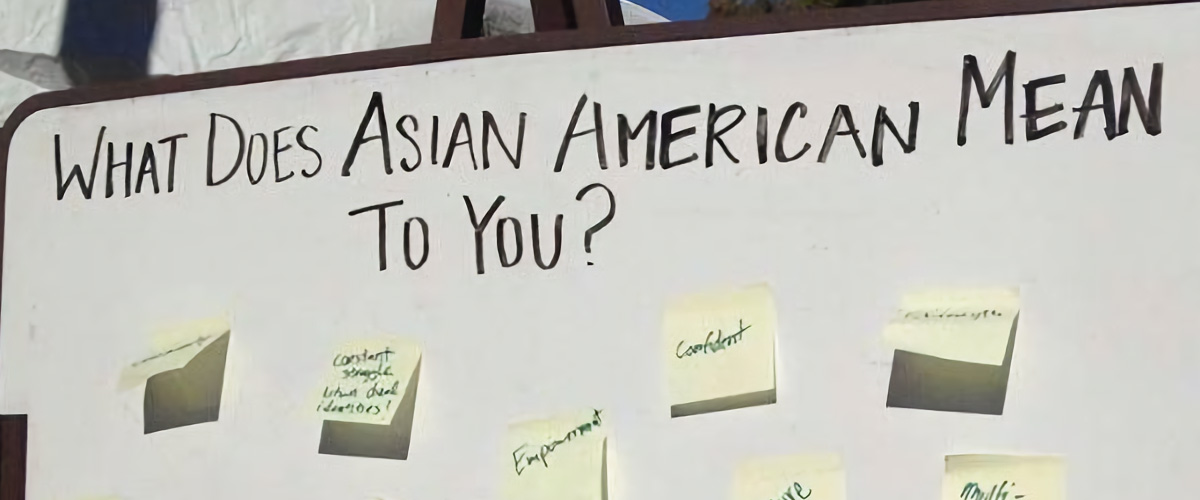 What does being Asian American mean to you?