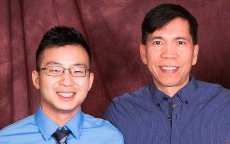 Kevin Chiem and Dr. Math Cuajungco
