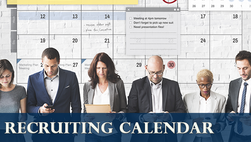 Recruiting Calendar   Career Center | CSUF