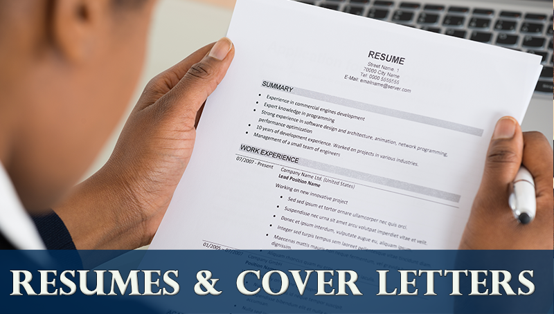 resumes cover letters career center csuf
