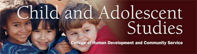 Child and Adolescent Studies Banner