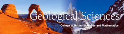 Geological Sciences Banner