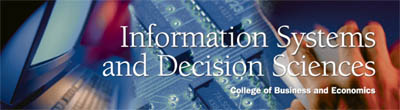 Information Systems and Decision Sciences Banner