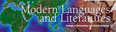 Modern Languages and Literatures Banner