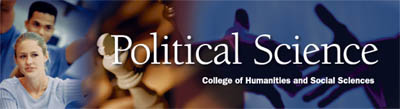 Political Science Banner