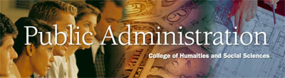 Public Administration Banner