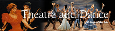 Theatre and Dance Banner