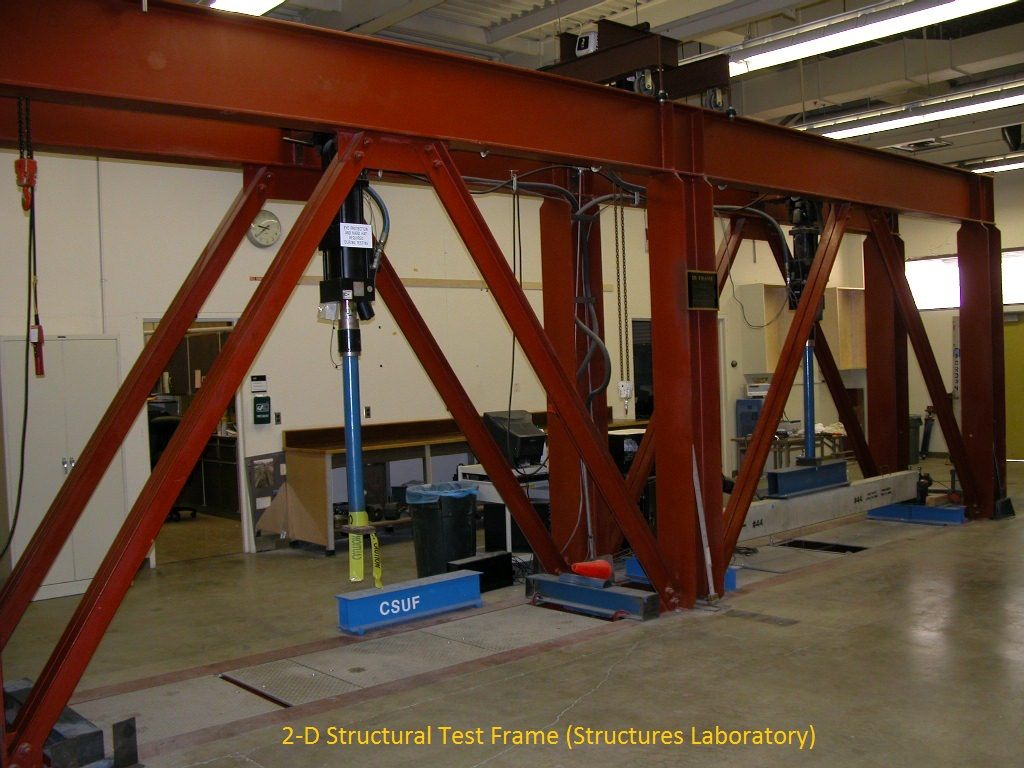 Structural Testing Laboratory : Civil and environmental engineering labs