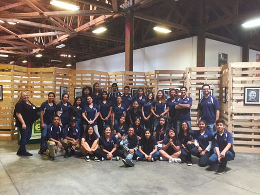 Volunteering at the Second Harvest