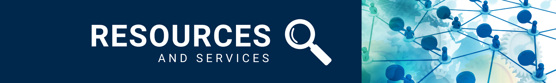 Resources & Services Banner