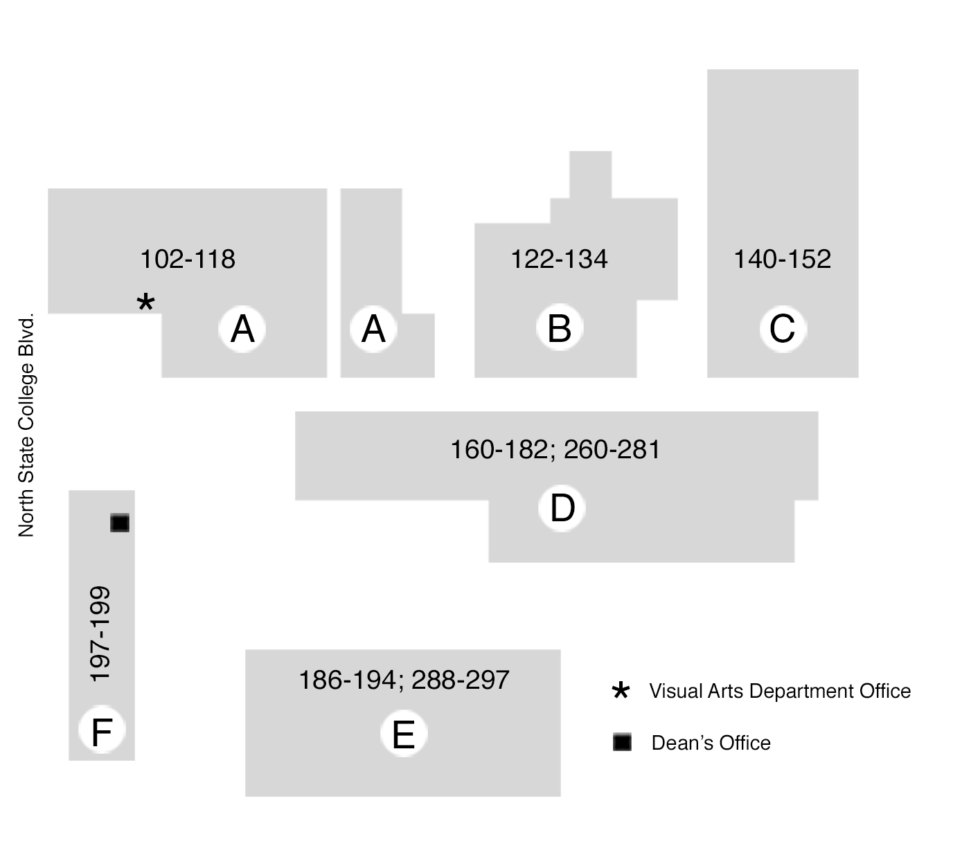 Visual Site Map: Department Map - Department Of Visual Arts