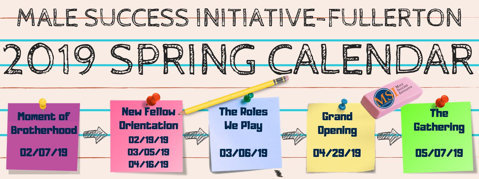 Cal State Fullerton Calendar 2019 Male Success Initiative   Male Success Initiative | CSUF